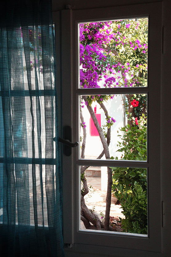 Δωμάτιο στο ισόγειο με θέα τον κήπο